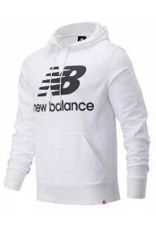 Sweatshirt Men´s New Balance Essentials Stacke white MT03558WT | Men's Sweatshirts | scorer.es