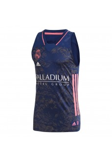 Real Madrid 20/21 Men's Shirt Navy Blue/Pink GI4586 | Basketball clothing | scorer.es