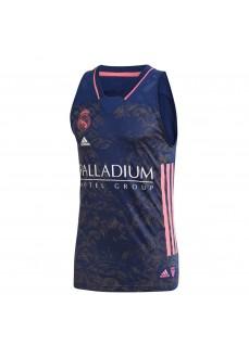 Real Madrid 20/21 Men's Shirt Navy Blue/Pink GI4586 | Basketball clothing | scorer.es