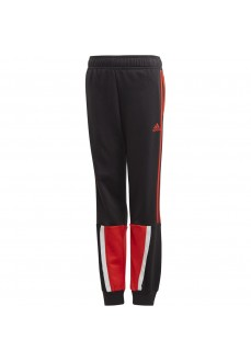 Adidas Kids' Bold Pants Black/Red GD5629 | Trousers for Kids | scorer.es