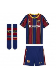 Conjunto Nike 1ª Equipación FC Barcelona Azul/Granate CD4590-456 | scorer.es