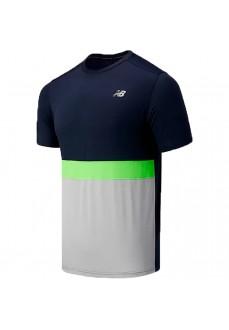 Camiseta Hombre New Balance Striped Accel Varios Colores MT03207-EM1 | scorer.es