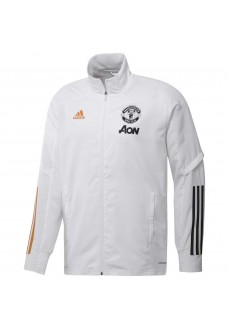 Adidas Men's Tracksuit Manchester Presentation white/Grey | Football clothing | scorer.es