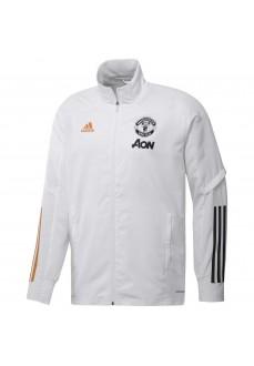 Chandal Hombre Adidas Manchester Presentation Blanco/Gris FR3679-FR3663