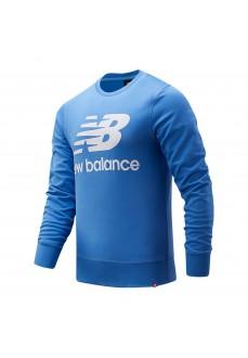 Sudadera Hombre New Balance Essentials Logo Azul MT03560-FCB | scorer.es