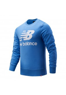 Sweatshirt Men´s New Balance Essentials Logo Blue MT03560-FCB | Men's Sweatshirts | scorer.es