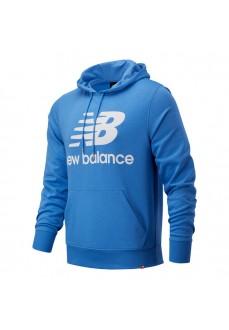 Sudadera Hombre New Balance Essentials Logo Azul MT03558-FCB | scorer.es