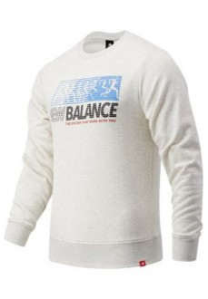 Sweatshirt Men´s New Balance Essentials Speed Grey MT03509-SAH | Men's Sweatshirts | scorer.es