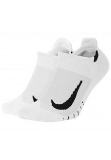 Calcetines Nike Multiplier Blanco SX7554-100 | scorer.es
