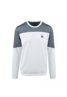 Lecoq Sportif Men's Sweatshirt Tricolore white/Grey 2020526 | Men's Sweatshirts | scorer.es