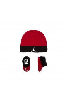 Conjunto Bebe Nike Hat+ Bootie Rojo/Negro LJ0102-R78 | scorer.es