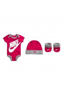 Conjunto Nike BodySuit+Hat+ Bootie Varios Colores LN0073-A4Y