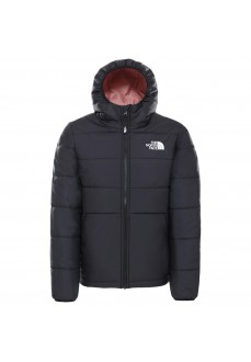 The North Face Girl's Perrito Jacket Black/Pink NF0A4TJHVRL1
