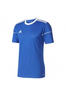 Camiseta Adidas Squad Azul/Blanco