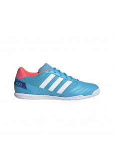 Adidas Men's Super Indoor Football Trainers Blue FX6758 | Men's Football Boots | scorer.es