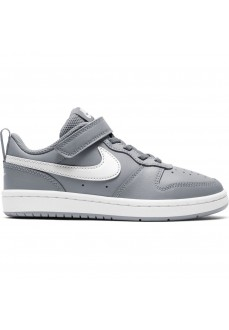 Zapatillas Niño/a Nike Court Borough Gris/Blanco BQ5451-008