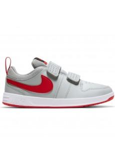 Zapatillas Niño/a Nike Pico 5 Gris/Rojo AR4161-004