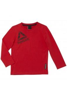 Sudadera manga larga Reebok Roja para niño/niña