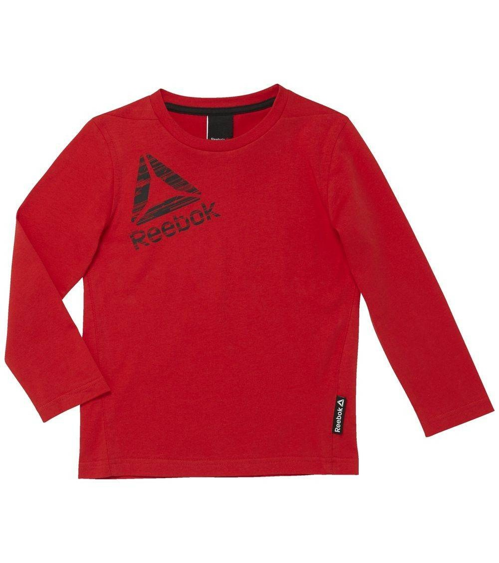 Sudadera manga larga Reebok Roja para niño niña  267887d79b46f
