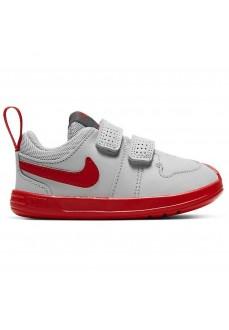 Zapatillas Niño/a Nike Pico 5 Gris/Rojo AR4162-004