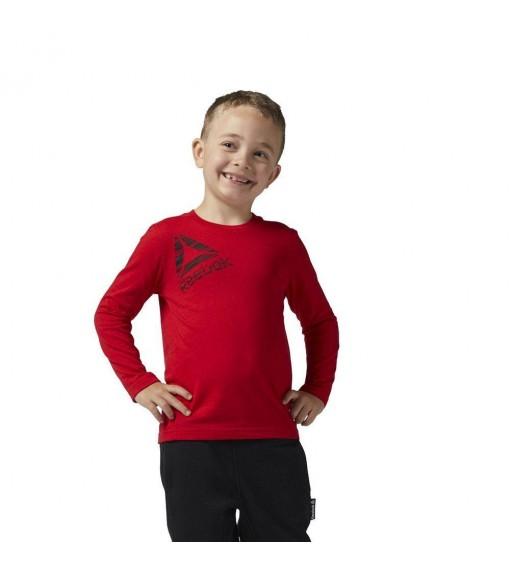Sudadera manga larga Reebok Roja para niño/niña | scorer.es