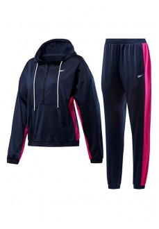 Reebok Woman´s Tracksuits Linear Logo Navy/Pink FU2235 | Tracksuits for Women | scorer.es