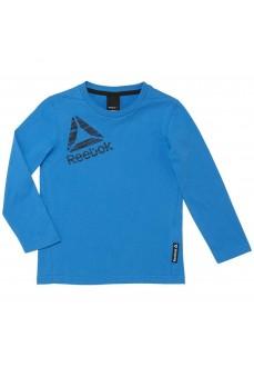 Sudadera manga larga Reebok Azul para niño/niña