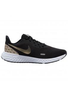 Zapatillas Mujer Nike Revolution 5 Negro/Oro CV0158-001