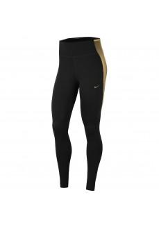 Nike Womans Legging One Black/Gold CU5020-010   Tights for Women   scorer.es