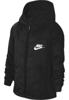 Abrigo Niño/a Nike Sportswear Negro CU9157-010 | scorer.es