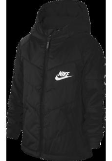 Nike Kid´s Jacket Sportswear Black CU9157-010 | Coats for Kids | scorer.es