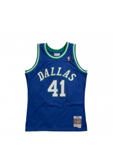 Mitchell & Ness Men´s T-Shirt D Mavericks D Nowitzki SMJYGS18158-DMAROYA98DNO | Basketball clothing | scorer.es