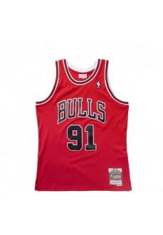 Mitchell & Ness Men´s T-Shirt Chicago Bulls D Rodman SMJYGS18154-CBUSCAR97DRD | Basketball clothing | scorer.es