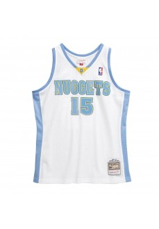 Camiseta Hombre Mitchell & Ness DNugets Anthoney Blanco SMJYAC19168-DNUWHIT06CAN
