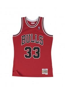 Camiseta Hombre Mitchell & Ness Chicago Bulls Rojo SMJYGS18153-CBUSCAR97SPI | scorer.es