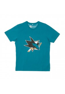 Fanatics Men's San Jose Sharks Karlsson Turquoise T-Shirt 1878MTEA1AEKAR | Men's T-Shirts | scorer.es