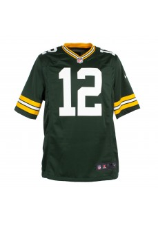 Camiseta Hombre Nike NFL Green Bay Packers (Aaron Rodgers) Verde 67NMGPGH7TF2NA