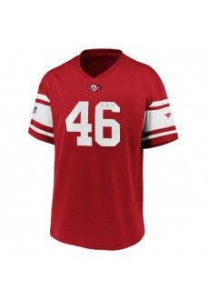 Fanatics Iconic Poly T-Shirt San Francisco 49ers Red 2080MREDFHES49 | Men's T-Shirts | scorer.es