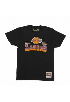 Camiseta Hombre Mitchell & Ness Los Angeles Lakers Negro MN-NBA-INTL867-LALAKE | scorer.es