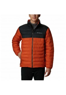 Columbia Men´s Coat Powder Lite Balck/Orange 1698001-820 | Coats for Men | scorer.es