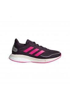 Zapatillas Adidas Niña Supernova Running Negro/Fucsia FW9108 | scorer.es