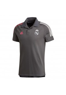 Polo Hombre Adidas Real Madrid 2020 Gris FQ7857 | scorer.es