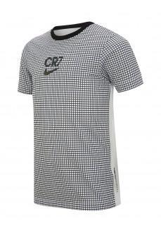 Camiseta Niño/a Nike Dri-Fit CR7 Blanco/Negro CT2975-100 | scorer.es