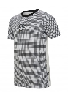 Nike Kid´s T-Shirts Dri-Fit CR7 White-Black CT2975-100 | Football clothing | scorer.es