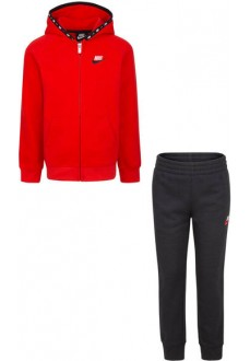 Nike Kid´s Tracksuit Fleece/Terry Black-Red 86H232-023 | Tracksuits for Kids | scorer.es