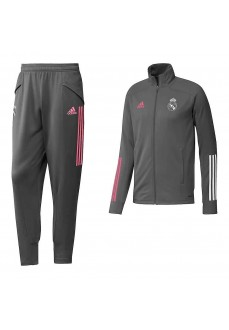 Chandal Niño/a Adidas Real Madrid 20/21 Gris FQ7870