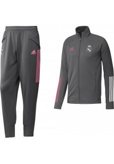 Adidas Real Madrid 2020/21 Men's Tracksuit Grey FQ7865 | Adidas Men's Tracksuits | scorer.es