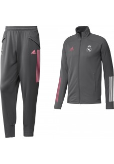 Chandal Hombre Adidas Real Madrid 2020/21 Gris FQ7865