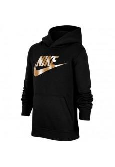 Sudadera Niño/a Nike Sportswear Club Fleece Negro/Oro CJ7861-013 | scorer.es