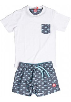 Koalaroo kid´s Set Frang Jr White/Grey/Blue W9190905P